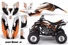 AMR Racing Yamaha Raptor660 Graphic Kit Wrap Quad Decals ATV 2001-2005 CRBNX ORG