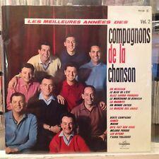 NM LP~LES COMPAGNONS DE LA CHANSON~Volume 2~Vol 2~[OG~1962~CBS~Comp~FRANCE IMPOR