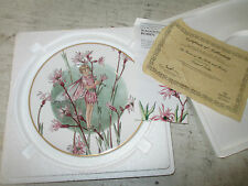 "Heinrich Fairies of the Fields & Flowers ""Ragged Robin"" 1983, Coa"