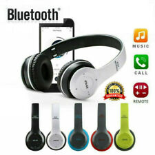 Wireless Bluetooth Headphones Foldable Stereo Earphones Super Bass Headset Mic R