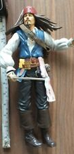 "Jacks Pacific Jack Sparrow 12"" Articulated Figure Pirates Of The Caribbean 2011"