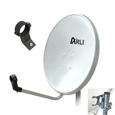 Sat Antenne 80cm Anlage Satellitenschüssel schüssel Digital Spiegel HD 4K ARLI W