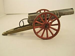 Grey Iron 1st Model field cannon  cast iron working mechanism 95% SCARCE