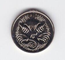 1986 5 Five Cent UNC Uncirculated Coin ex Mint Set Australia *