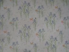 MINIATURE DOLLHOUSE floral iris k&w minigraphics wallpaper 1:12