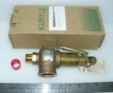 "Kunkle 918BEDE03LE-0040 Safety Relief Valve Bronze 3/4"" X 1-1/4"" 40 PSI"