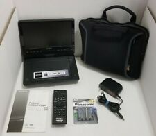 Sony Black Portable DVD Player DVP-FX950 with Remote Carry Case TESTED FREE SHIP