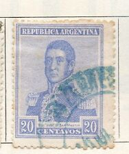 Argentine Republic 1916 Early Issue Fine Used 20c. 087383