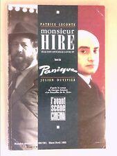 L'AVANT SCENE CINEMA N° 390-391 / 03-04/1990 / MONSIEUR HIRE / PATRICE LECONTE