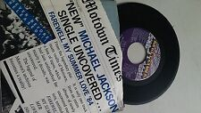 Michael Jackson-farewell My Summer Love-45-motown-1739 PICTURE SLEEVE