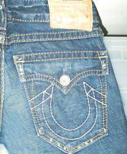 *HOT Men's TRUE RELIGION @ BILLY BIG T BOOTCUT Denim Jeans 30 x 31 (Fit 32 x 31)