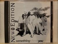 NEW EDITION: SOMETHING ABOUT YOU DJ PROMO 2 TRACK CD SINGLE! 1997 MCA!  MINT!