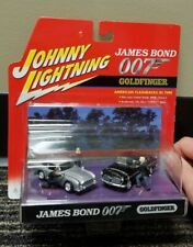 Johnny Lightning James Bond 007 Goldfinger American Flashbacks Diorama Set