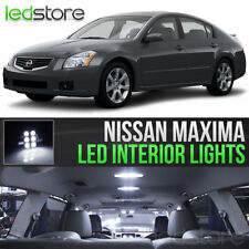 White LED Lights Interior Kit Package Bulbs For 2004-2008 Nissan Maxima