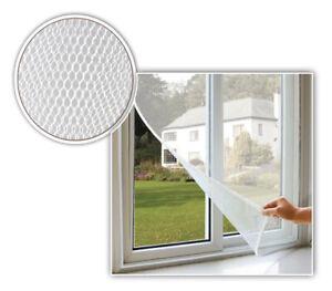 Zanzariera a rete universale per finestre porte con nastro adesivo varie misure