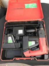 Hilti TE 10 A  Akku Bohrhammer + original Koffer mit 2 Akkus! Gebraucht