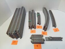 N scale kato unitrack 70 pieces different types.