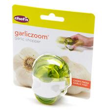 Chef'n GarlicZoom Small Garlic Chopper Mincer Shredder - Green - Dishwasher Safe