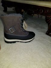 Bearpaw Nelly Dark Brown Rain and Snow Boots-Size 6-MSRP $95-New