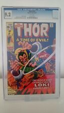 MIGHTY THOR # 191  CGC 9.2 -NM  VS CLASSIC LOKI COVER  STAN LEE  CENTS 1971