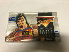 Skybox 1993 The Return of Superman Trading Cards Factory Sealed Box