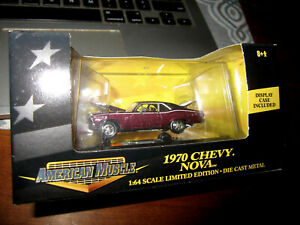 2000 ERTL COLLECTIBLES AMERICAN MUSCLE 1970 CHEVROLET NOVA IN ORIGINAL BOX