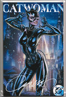 CATWOMAN 80TH ANNIVERSARY #1 (COVER H) SIGNED J. SCOTT CAMPBELL EXCLUSIVE ~ DC