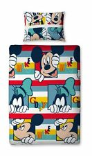 Original Disney Mickey Mouse Children's Bedding 135x200 Clubhouse New