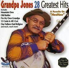 Grandpa Jones - 28 Greatest Hits [New CD]