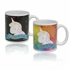 Unicorn Heat Change Mug Colour Changing Kids Coffee Tea Gifts Girls
