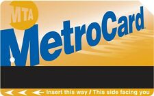 UNLIMITED MONTHLY METRO CARD