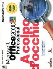 Microsoft Office 2000 Professional  A COLPO D'OCCHIO