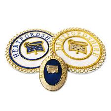 Maçonnique Artisanat Provincial Déshabiller & Robe Tablier Badge &