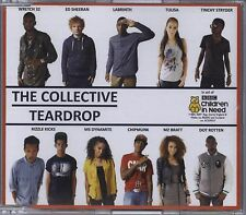 THE COLLECTIVE: ED SHEERAN WRETCH 32 LABRINTH TULISA - TEARDROP 2011 CD SINGLE