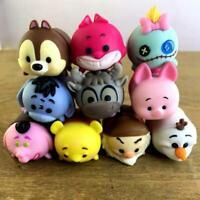 Lot of 10 Disney Tsum Tsum Stack Pack Vinyl Figures Medium Size BIN