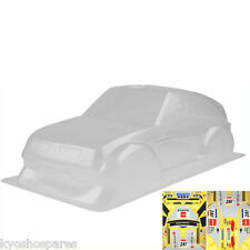 KYOSHO QRC MITSUBISHI PAJERO EVOLUTION CLEAR BODY SHELL WITH DECALS, BVB01