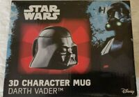 Star Wars 3d Character Mug Darth Vader Gift Disney