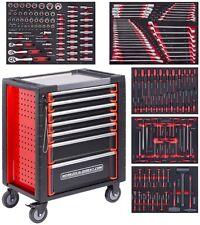Profi Werkzeugwagen / Werkstattwagen Schaumstoff gefüllt 192 tlg. | mit ODS