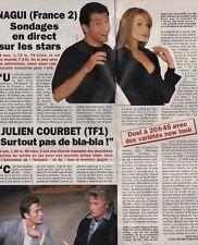 Coupure de presse Clipping 1995 Nagui vs Julien Courbet (1 page 1/3)