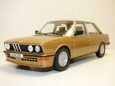 BMW M535i gold métal  E12 1/18 Serie 5 er