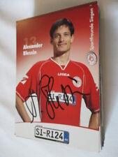 77838 Alexander Blessin Sportfreunde Siegen original signierte Autogrammkarte