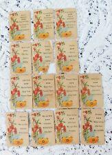 ANTIQUE BRITISH ISLES AUTHOR CARD GAME 14 CARDS