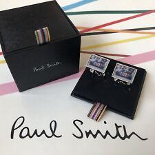 PAUL SMITH Striped Mini on Location Car Cufflinks NEW in Box * Genuine