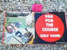 VINTAGE BOARD GAME PAR FOR THE COURSE GOLF GAME AUSTRALIA 1977 BILLY DUNK