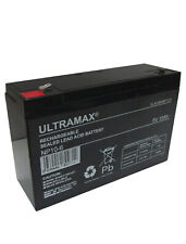 NP10-6, 6V 10Ah (as 12Ah) Ultra Max Lead Acid Rechargeable Battery 12Ah 6v