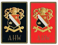 Vintage Brown & Bigelow Coat Of Arms Playing Cards Double Deck