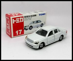 TOMICA 17 TOYOTA CELSIOR 1/65 TOMY NEW DIECAST CAR  2002