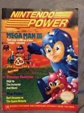Nintendo Power Magazine Mega Man III with Poster Volume 20