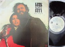 Kris Kristofferson & Rita Coolidge ORIG US LP Full moon EX 1973 Country Rock Pop