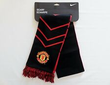Nike Manchester United Soccer Team Unisex Reversible Scarf New